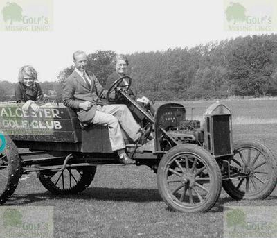 Alcester Golf Club, Warwickshire. An early version of a golf buggy?