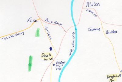 Alston Golf Club course at Black House Farm.