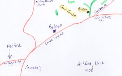 Ashford golf course map