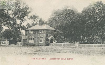 Ashford Golf Club, Kent. The Cottage on the Golf Links.