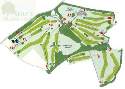 Aspect Park Golf Club course plan.
