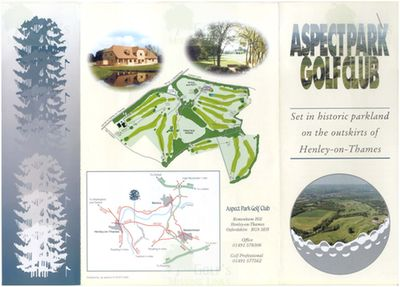 Aspect Park Golf Club, Oxfordshire. Course information.