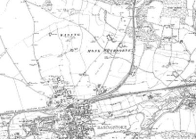 Basingstoke & District Golf Club 1912 O.S map.