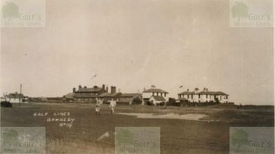 Bawdsey Golf Club, Suffolk. View of the golf links.
