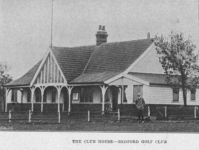 Bedford Golf Club, Biddenham. Illustrated Sporting Dramatic News November 1902.