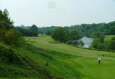 Belmont Lodge Golf Club, Hereford. View of the course.