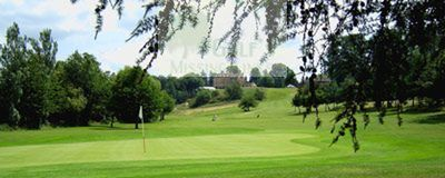 Belmont Lodge & Golf Club, Hereford. Belmont Lodge from the course.