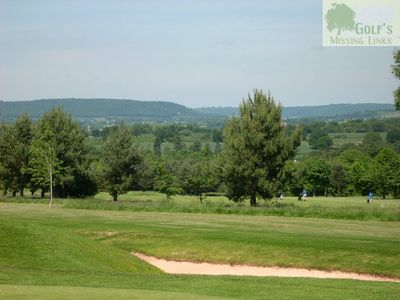 Belmont Lodge & Golf Club, Hereford. View over the course.