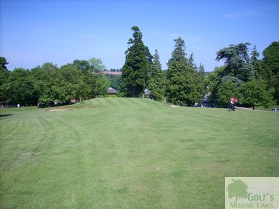 The Belmont Lodge & Golf Club, Hereford. Approaching the green.