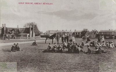 Bentley Green Golf Club, Essex. The Golf House.