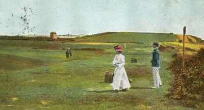 Bexhill-on-Sea Golf Club. The course in 1906.