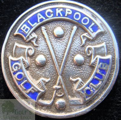 Blackpool Golf Club, South Shore, Club Button.