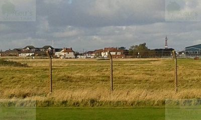 Blackpool Golf Club, South Shore. View taken from St Anne's Old Links.