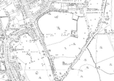 Blackwell Grange Golf Club, Darlington. As shown on the 1939 OS map.