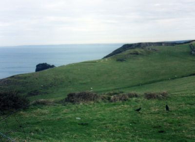 Boscastle Golf Club, Cornwall. Picture taken in 2003.