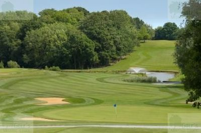 Botley Park Hotel Golf & Country Club, Boorley Green, Southampton. The Eleventh Hole.