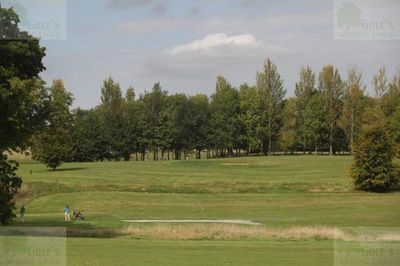 Botley Park Hotel Golf & Country Club, Boorley Green, Southampton. The Golf Course.