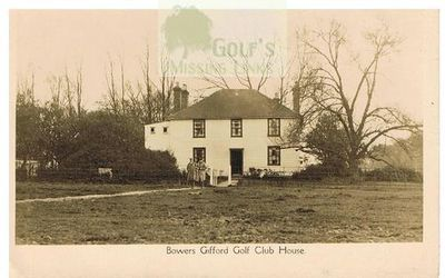 Bowers Gifford Golf Club, Benfleet, Essex. The Clubhouse.
