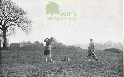Brandwood House Golf Club. Ladies on the first tee.