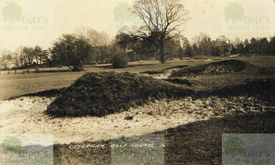 Caterham Golf Club. The course in the 1930s.