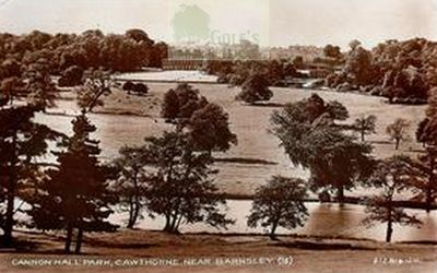 Cawthorne Golf Club, Barnsley. Yorkshire. Cannon Hall Park.