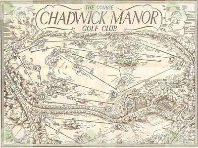 Chadwick Manor Golf Club, Knowle, Warwickshire. Layout and yardages of the course.