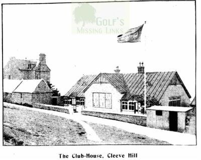 Cheltenham Golf Club. Clubhouse in the early 1900s.