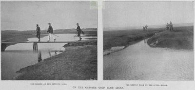 Chester Golf Club, Sealand. Article from The Illustrated Sporting Dramatic News September 1901.
