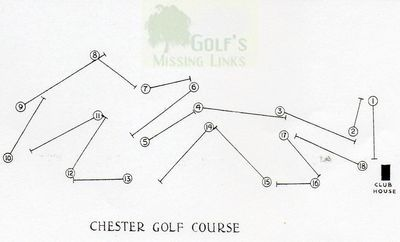 Chester Golf Club. Course layout.