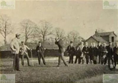 Chiswick Golf Club, London. The Professional match in 1894.