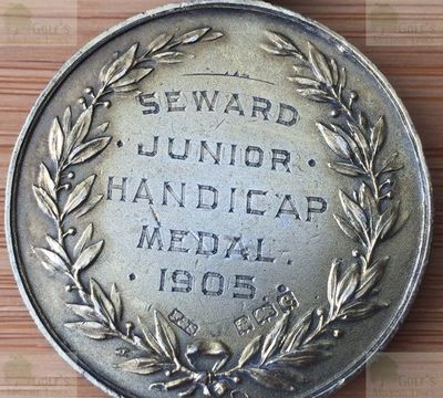 Clapham Common Golf Club, Greater London. Competition Medal from 1905.