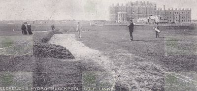 Clevelys Hydro Golf Club, Blackpool. The early course.