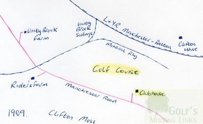 Clifton Golf Club, Manchester. Course location.