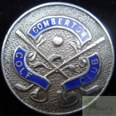 Comberton Golf Club, Kidderminster. Club button.
