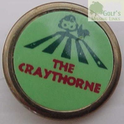 Craythorne Golf Club, Burton-on-Trent. Ball marker.
