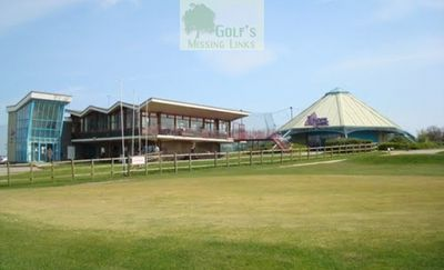 Deangate Ridge Golf Club, Medway. The clubhouse and sports complex.