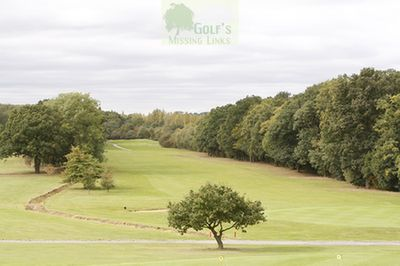 Deangate Ridge Golf Club, Medway. The eighteenth hole.