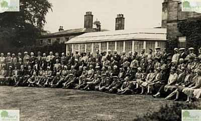 Derbyshire Golf Club, Allestree Park Course. Picture taken on opening day in May 1930.