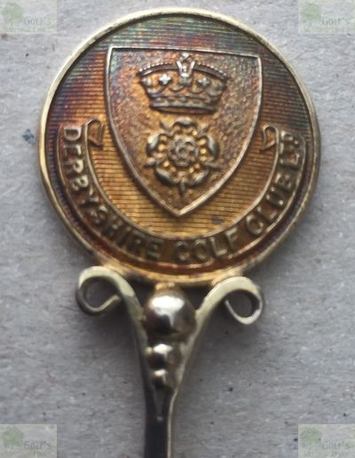 Derbyshire Golf Club. Competition Spoon marked 1926.
