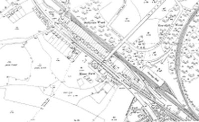 East Finchley Golf Club. 1913-14 O.S Map of Manor Farm.