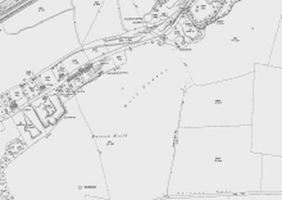 East Herts Golf Club, Ware. The East Herts golf course on the 1923 O.S map.