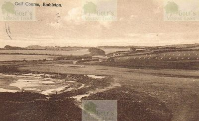 Embleton Golf Club, Northumberland The Embleton course in the 1930s.