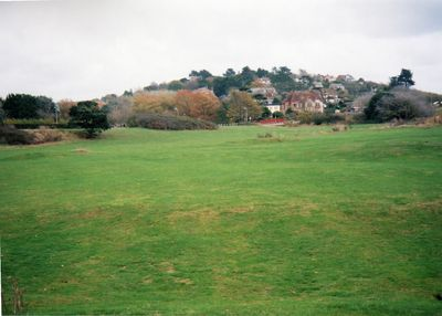 Exmouth Golf Club, Devon. The golf course in 2002.