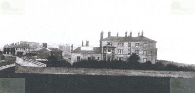 Felixstowe Golf Club, Suffolk. The Manor Hotel, first clubhouse.