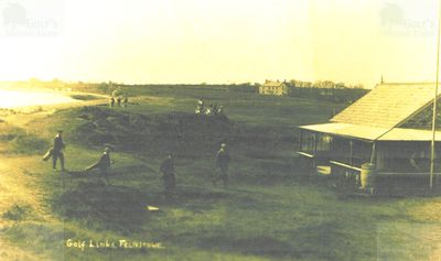 Felixstowe Ladies' Golf Club, Suffolk. The Ladies' clubhouse and course