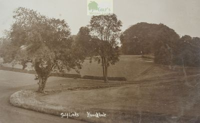 Halstead Place (Knockholt) Golf Links, Kent. View of the earlier Knockholt golf links.
