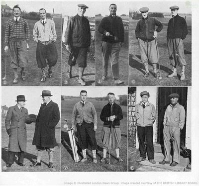 Hastings Downs Golf Club, Sussex. Article from The Bystander January 1935.