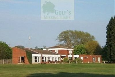 Herne Bay Golf Club, Eddington, Kent. The later clubhouse.