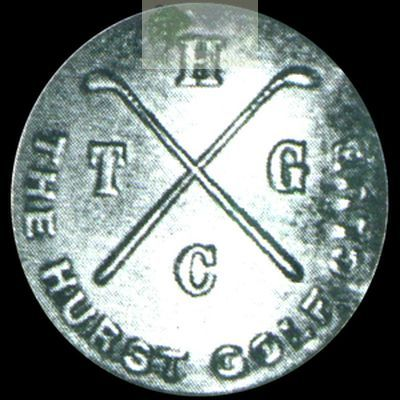 Hurst Golf Club, Tile Hill, West Midlands. Club button.