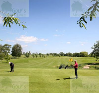 Hurst Golf Club, Reading.View of the golf course.